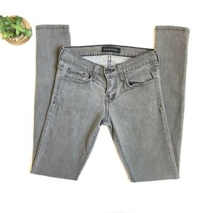 FLYING MONKEY Skinny Jeans Light Gray Style L9241